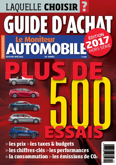 Guide d'Achat 2017