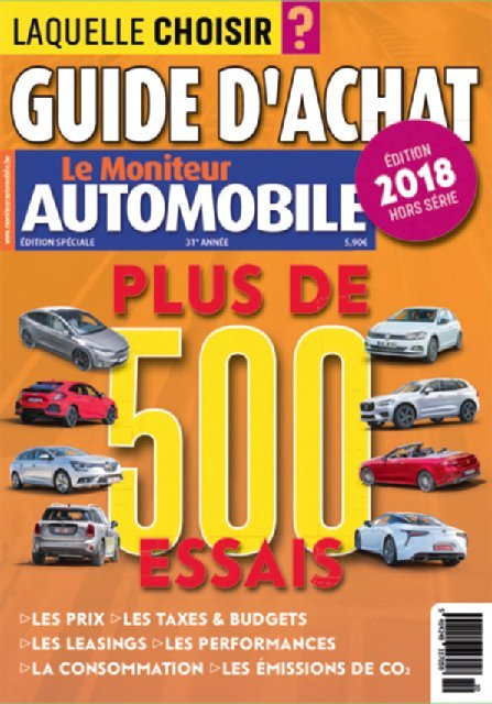 Guide d'Achat 2017-2018