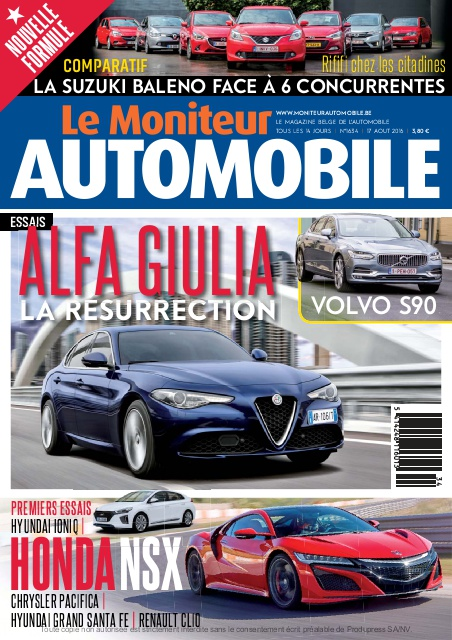 E-magazine Moniteur Automobile Magazine n°1634