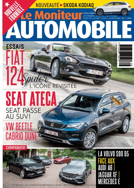 E-magazine Moniteur Automobile magazine n° 1636