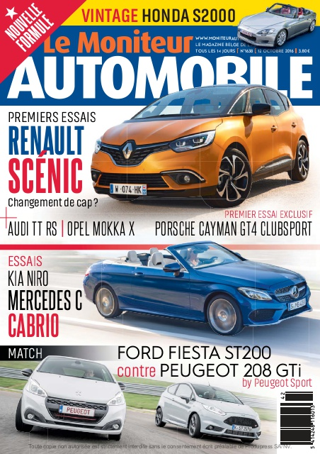 Moniteur Automobile magazine n° 1638