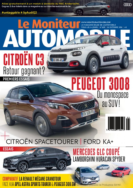 Moniteur Automobile magazine n° 1639