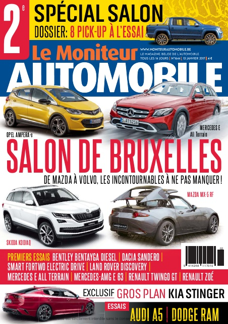 Moniteur Automobile magazine n° 1644