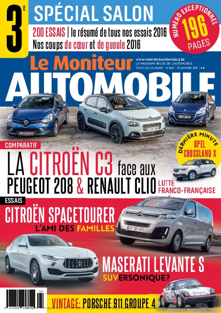 Moniteur Automobile magazine n° 1645