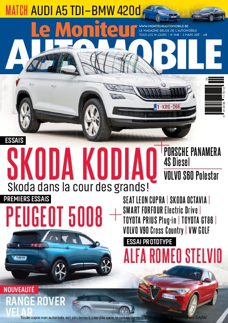Moniteur Automobile magazine n° 1648
