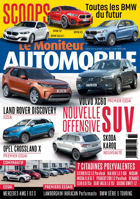 Moniteur Automobile magazine n° 1655