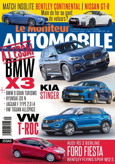 Moniteur Automobile magazine n° 1665