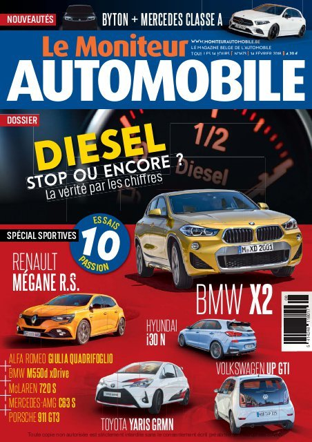 Moniteur Automobile magazine n° 1673