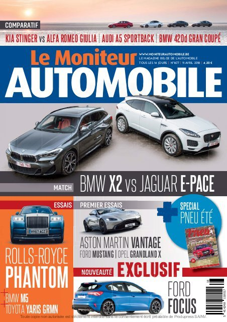 Moniteur Automobile magazine n° 1677