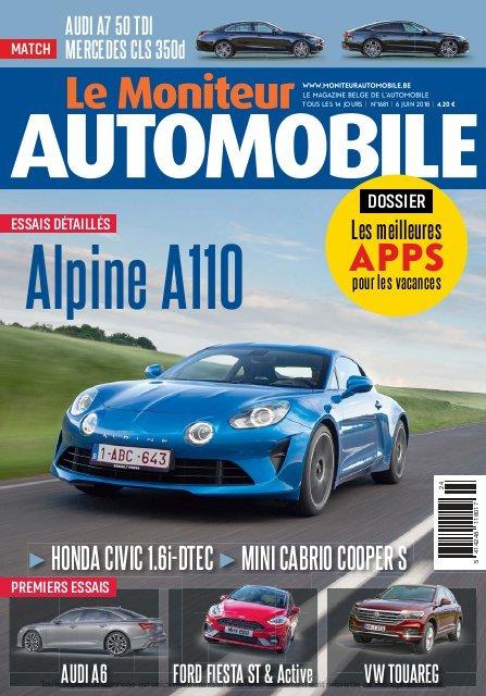 Moniteur Automobile magazine n° 1681