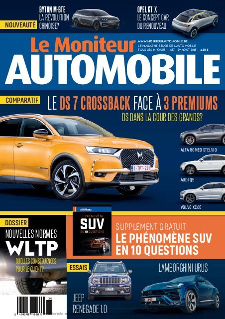 Moniteur Automobile magazine n° 1687