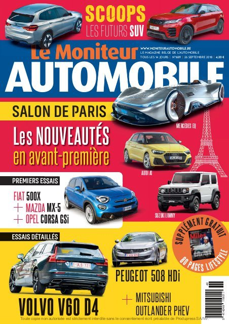 Moniteur Automobile magazine n° 1689
