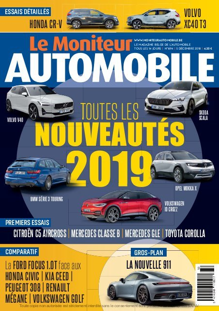 Moniteur Automobile magazine n° 1694