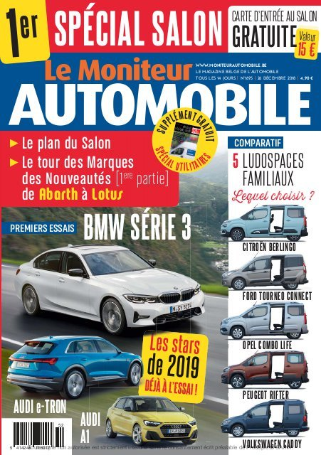Moniteur Automobile magazine n° 1695