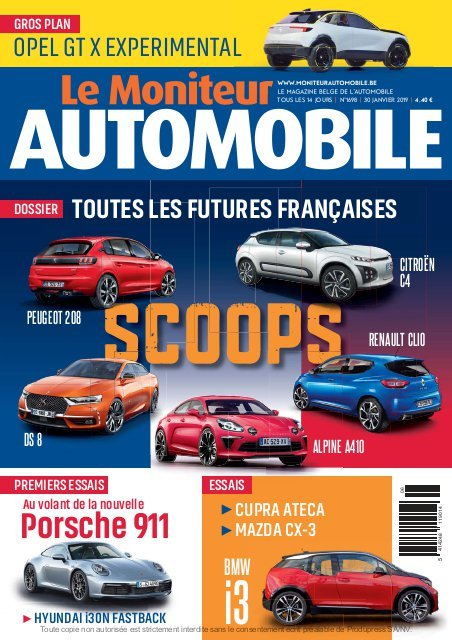 Moniteur Automobile magazine n° 1698