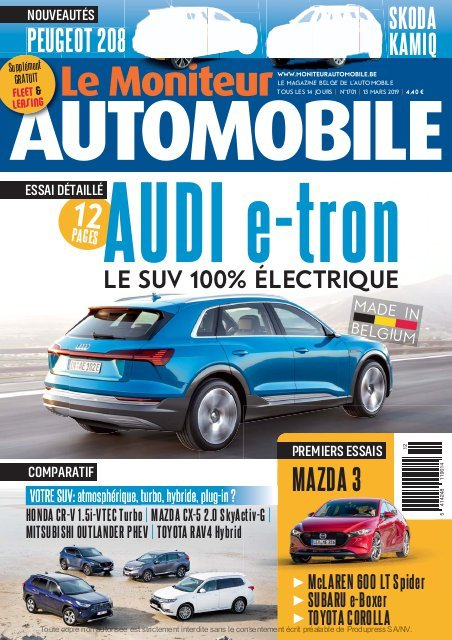 Moniteur Automobile magazine n° 1701