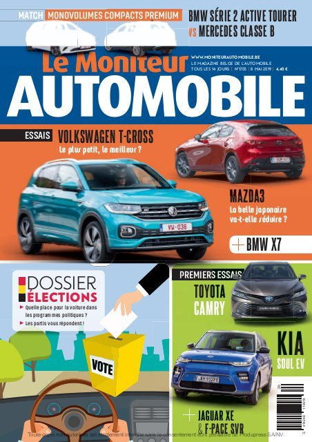 Moniteur Automobile magazine n° 1705