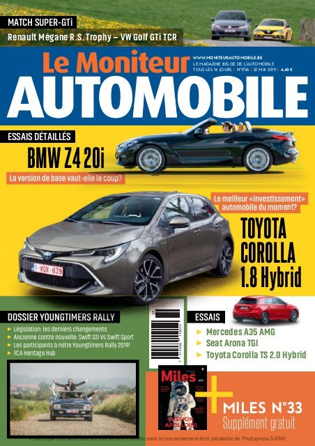 Moniteur Automobile magazine n° 1706