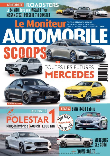 Moniteur Automobile magazine n° 1709