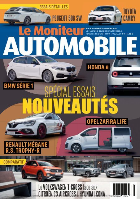 Moniteur Automobile magazine n° 1710