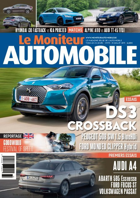 Moniteur Automobile magazine n° 1711