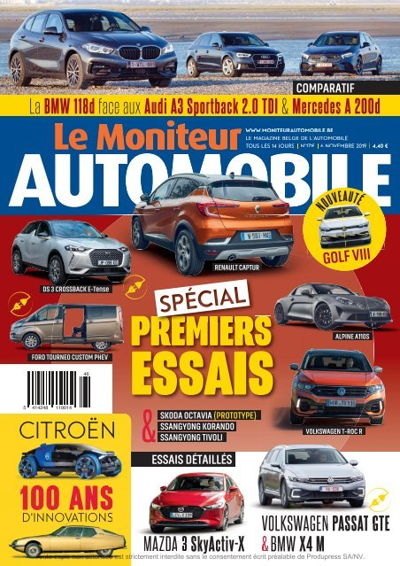 Moniteur Automobile magazine n° 1718