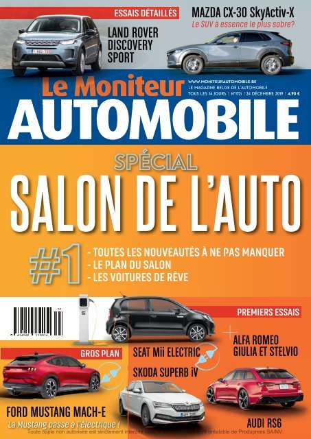 Moniteur Automobile magazine n° 1721
