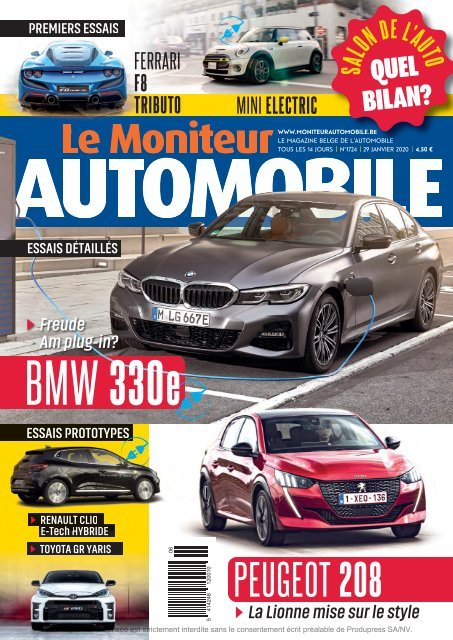 Moniteur Automobile magazine n° 1724