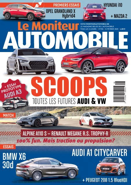 Moniteur Automobile magazine n° 1725