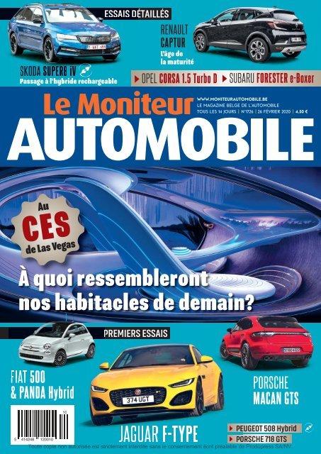 Moniteur Automobile magazine n° 1726