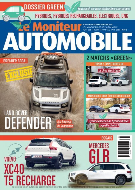 Moniteur Automobile magazine n° 1729