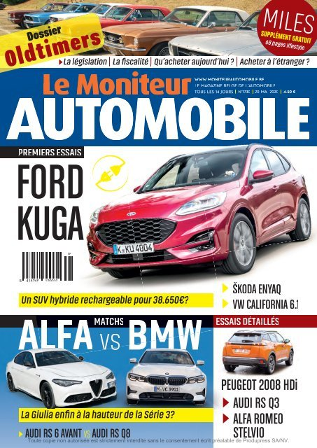 Moniteur Automobile magazine n° 1730