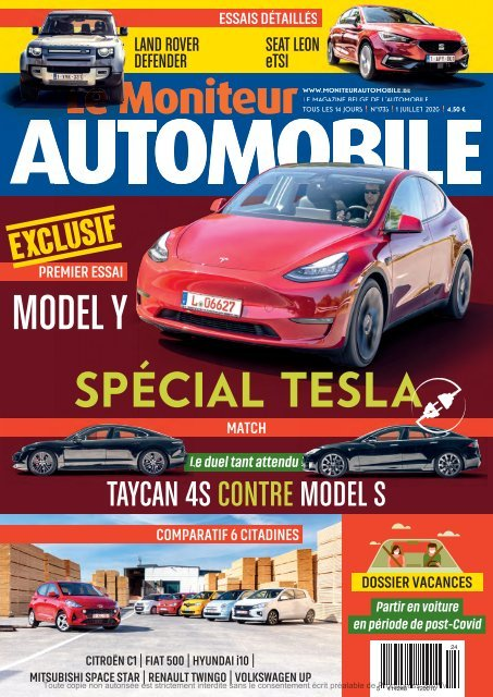 Moniteur Automobile magazine n° 1733