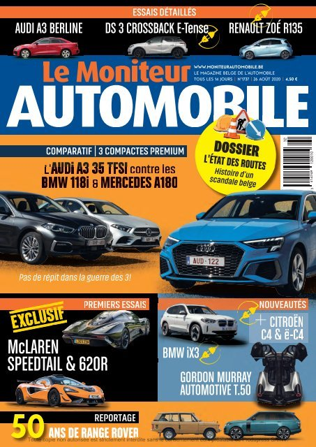 Moniteur Automobile magazine n° 1737